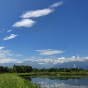 夏と秋の間にて ~御宝田遊水池~