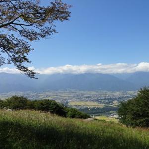 長峰山から光城山へ
