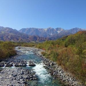 【白馬】 R148 松川橋 ・・・橋めぐり再開