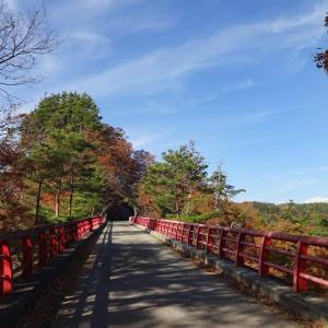 秋の池田町めぐり◆登波離橋