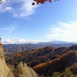 秋の池田町めぐり◆紅葉 と 継子落とし (2)