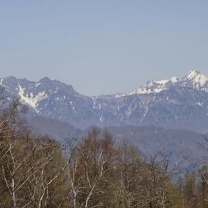 5月初めの陣場平山◆長野県道86号戸隠篠ノ井線を下る