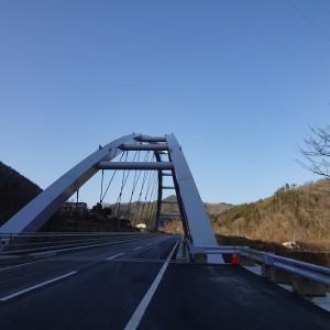 山清路大橋を偵察