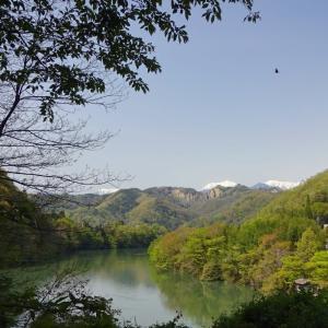 5月の晴れた空 ~ 春紅葉と継子落とし (1)