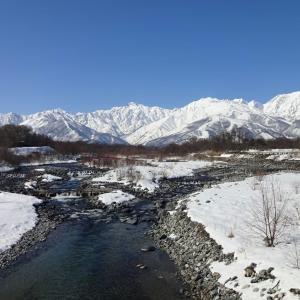 2月の晴れた日の ~ 松川大橋
