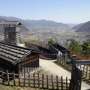千曲の春 2019 (5) ~城山史跡公園「荒砥城跡」