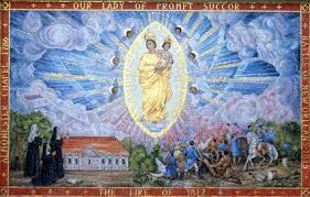 速やかなる御助けの聖母、台風19号の猛威から我らを守り給え!
