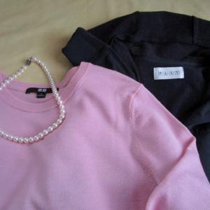 また褒められたユニクロは1419円のセーター。素直になるといいことが起きる
