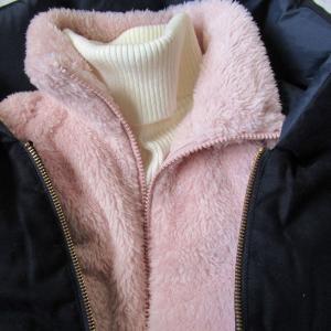 ユニクロ、捨てなくてよかったファーリーフリースフルジップジャケット