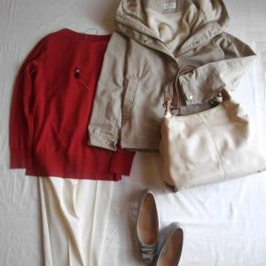 「今が買い」なPLSTの白パンツ、透けずに暖か春先にもいい