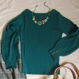 これで簡単に春のセーターを選べる!骨格ウェーブの私が決めた初挑戦の1枚