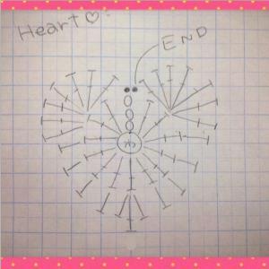 星野源さんとハートのモチーフを編むフルバージョン