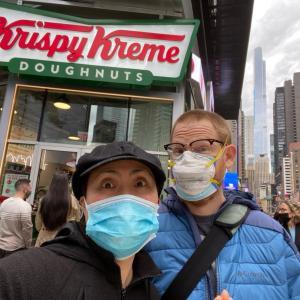 コロナワクチン接種で無料ドーナツ!(47歳、12回目の採卵直前!)