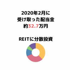 【2020年3月受取配当金】コロナショックを受けての反省。REIT銘柄に分散投資
