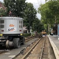 No.520フランス北部リルのトラム夏期工事の詳細