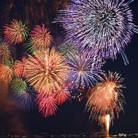 No.529パリ南西サン・クルー公園の大花火大会!