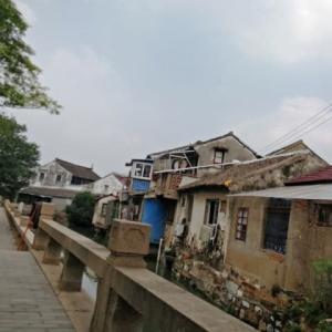 近頃の商店街散歩 In 江蘇省