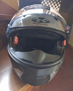 SUZUKI GSX-S125 ABS 用の新しいシステムヘルメット、OGK RYUKI購入 その2