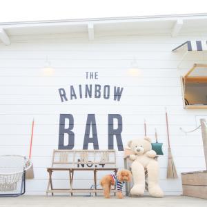 RAINBOW BARの前で♪