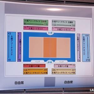 ☆2019-20V.LEAGUE 女子ファイナル8船橋大会 1月19日現地観戦メモ