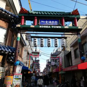 コリアタウンで韓国旅行気分