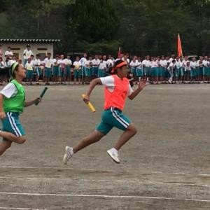 中学最後の体育祭