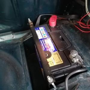 バッテリー交換 と ブレーキパッド交換