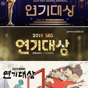 2019年韓国ドラマ・総まとめ~演技大賞より
