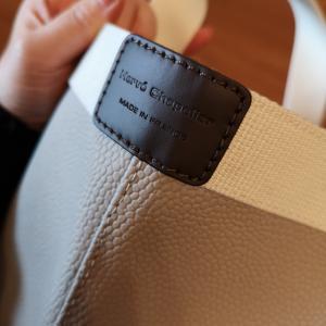 「エルベシャプリエ」ある程度荷物が入って、カジュアル仕様のステキなバッグ。