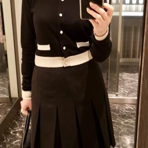 先日のコーディネート。制服っぽい♡