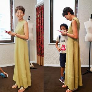 猛暑でも涼しく快適で居られるサマードレス。