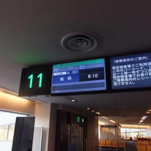 羽田⇒福岡(JL307)*やっぱり飛行機が好きで・・・