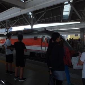 念願の自強号を目撃?と帰りの高鐵はビジネス車両(商務車)に乗る!