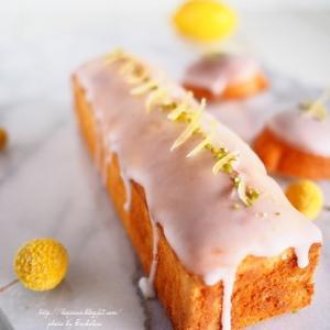 パウンド型でレモンケーキ