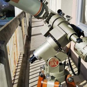 部分日食の撮影準備(2)