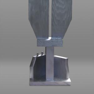 【彫刻家】「エッジのある構成(Rabbits Figure)」【現代日本彫刻家】大河原隆則