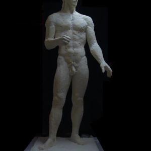 【彫刻家】「闘う人:証」【現代彫刻家】