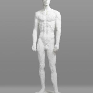 【彫刻家】大河原隆則「穿つ・人」