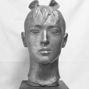 【彫刻家】大河原隆則「Ribbon」モノトーン
