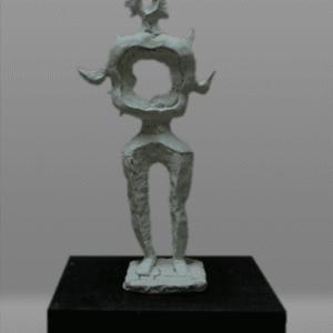 【彫刻家】大河原隆則「鳥人Ⅰ」