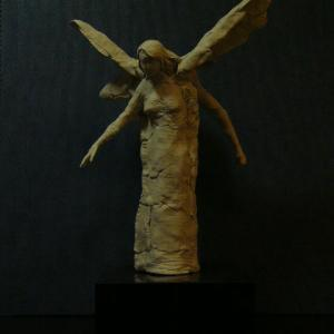 【彫刻家】【大河原隆則】「二人の天使」①、②、③