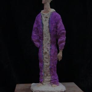 【樹脂粘土彫刻】「未来人」・・・つづき