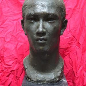 【FRP彫刻】「友の顔」