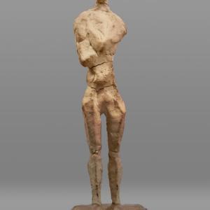 【中堅彫刻家】大河原隆則「待つ人」