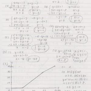 数学⑥の解答