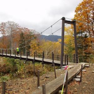 燧ヶ岳裏周り道吊橋