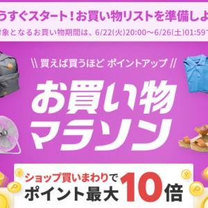 【楽天マラソン】開始2時間半額クーポンが熱い!!