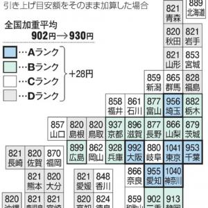 【全国一律28円UP?!】最低賃金どうなる?