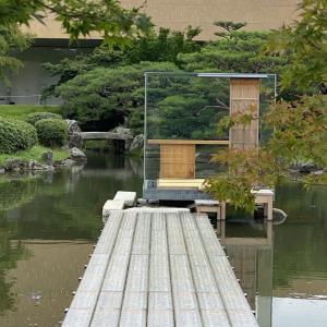 硝子の茶室 聞鳥庵(モンドリアン)|京都市京セラ美術館