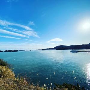 穏やかな青や緑を眺めながら|郡山~松島